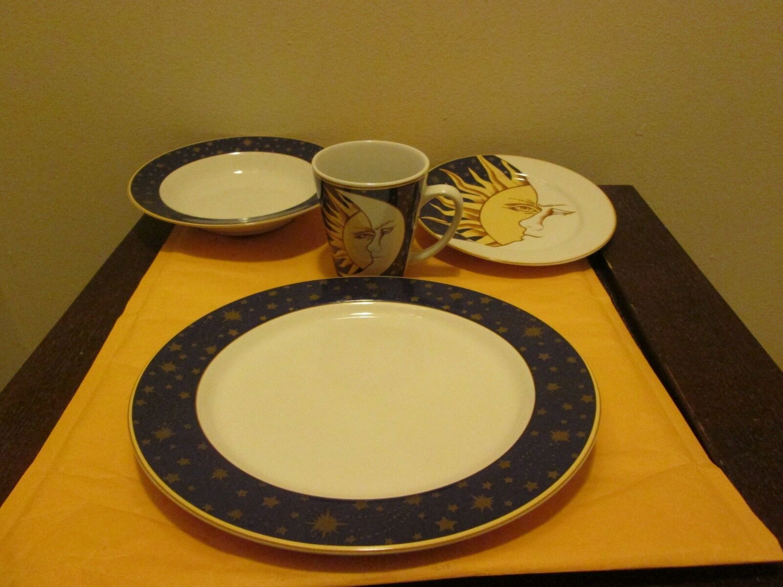 Service Sakura 4 Pour Sun & Moon vaisselle NEUF