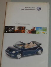 VHS Video VW New Beetle Cabriolet - Das Schauraumvideo