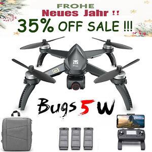 MJX B5W Brushless GPS RC Drohne mit 4K Weitwinkelkamera 5G Wifi FPV Quadrocopter