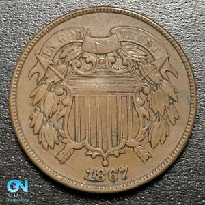 1867-2-Cent-Piece-MAKE-US-AN-OFFER-P0911
