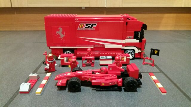 LEGO Racers Ferrari Truck (8185) 100% Complete
