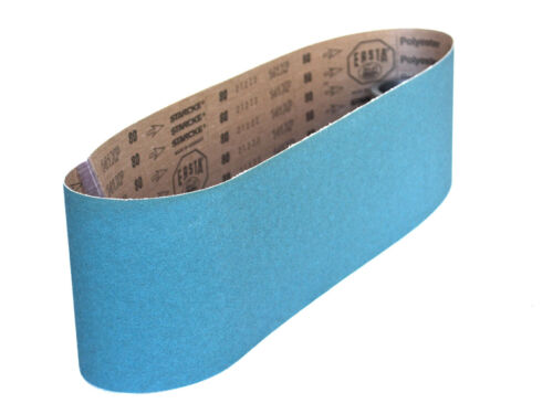 Sanding Belts 6 X 48 Zirconia Cloth Sander Belts 24 Grit 4 Pack