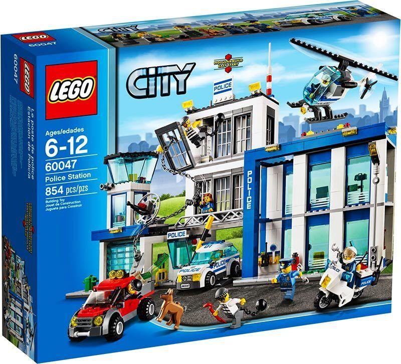 Lego City 60047  estación de policía-Nuevo En Caja