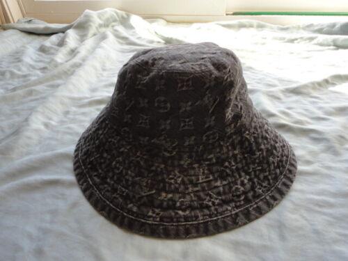 Louis Vuitton Vintage Monogram Denim Bucket Hat 10