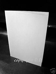 25 Klappkarten Grußkarten Faltkarten Fotopapier weiß  zum selber bedrucken 175g