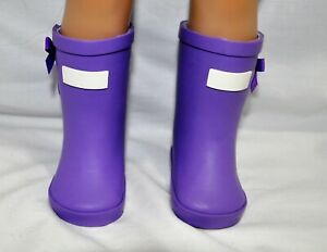 Fits-Our-Generation-American-Girl-18-034-Dolls-Clothes-Shoes-Purple-Gum-Boots