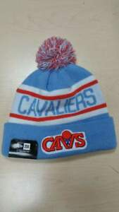 30edd009546 New Era NBA Cleveland Cavaliers CAV Biggest Fan Cuffed Pam Knit ...