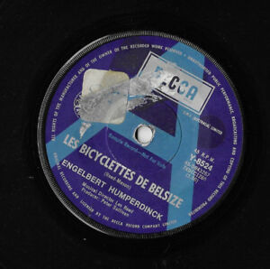 ENGELBERT-HUMPERDINCK-LES-BICYCLETTES-DE-BELSIZE-AUSTRALIAN-PROMO-SINGLE