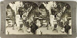 Frankreich La Loire Dorf Vouvray, Foto Stereo Vintage Analog PL62L6