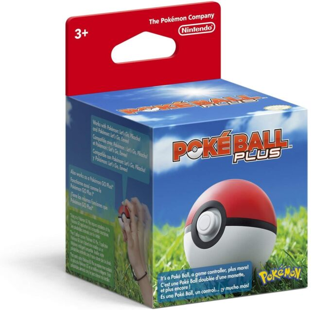 Pokémon: Let's Go, Eevee! - Poké Ball Plus (Nintendo Switch, 2018)