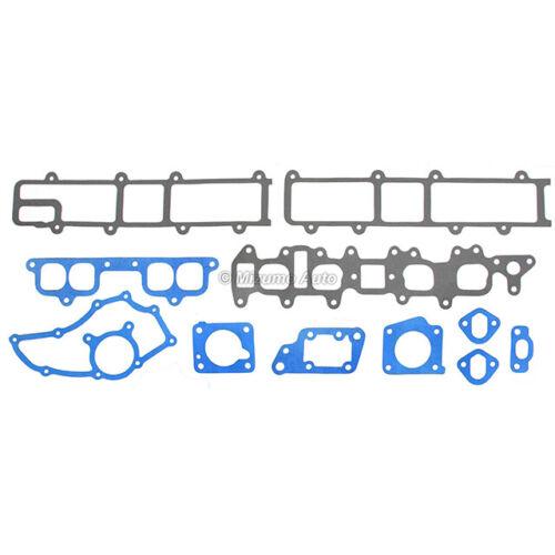 Head Gasket Set Intake Exhaust Valves Fit 85-95 Toyota 2.4 SOHC 22R 22RE 22REC