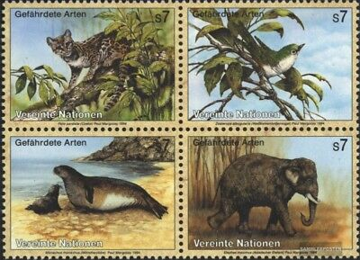 Obedient Un-vienna 162-165 Block Of Four (complete Issue) Used 1994 Affe