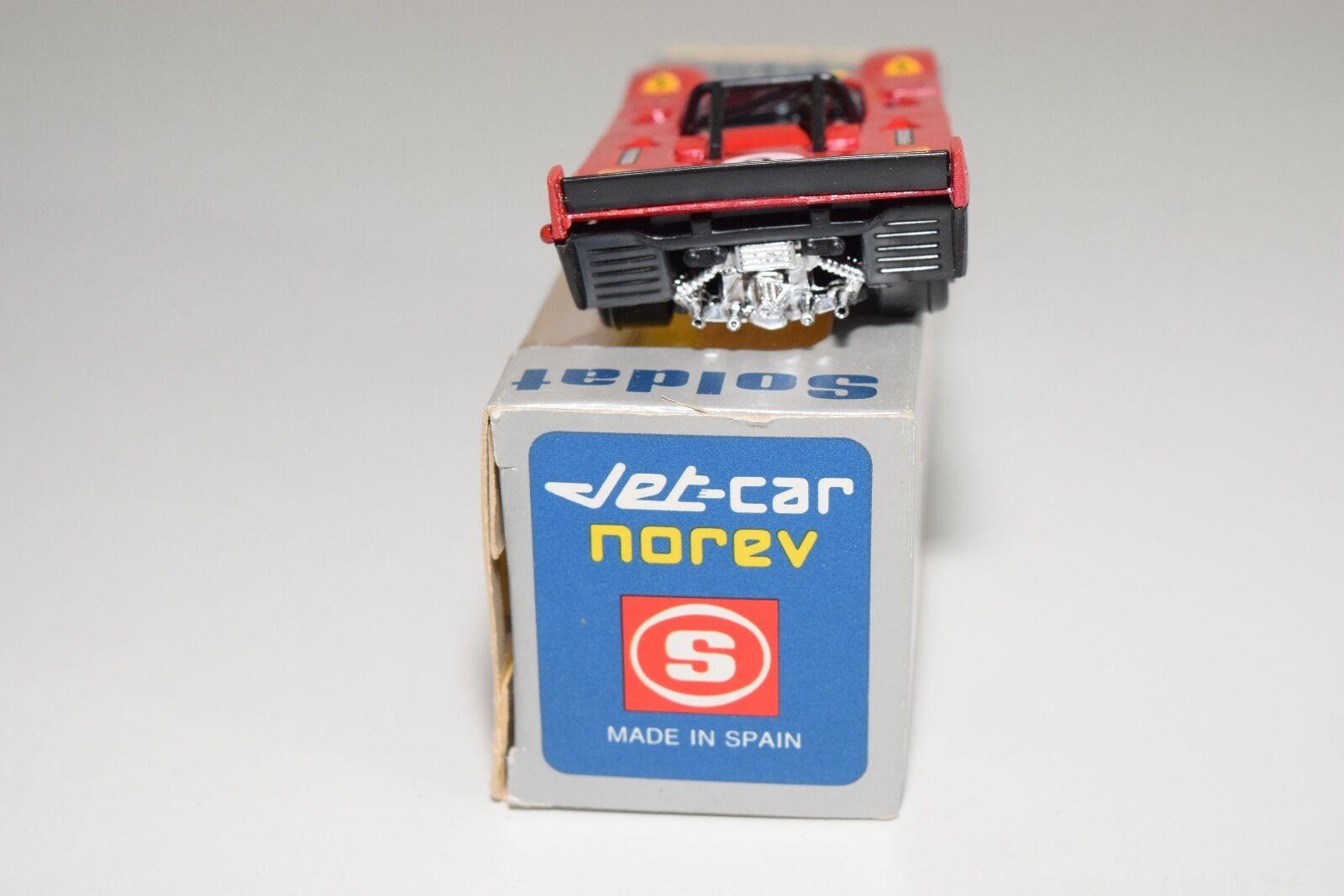 + NOREV JET-CAR SOLDAT SPANISH BOX 835 FERRARI FERRARI FERRARI 008   312 P MINT BOXED RARE 103efd