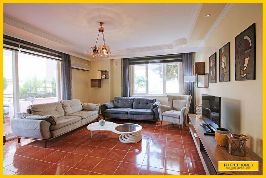 Alanya Mahmutlar - Dejlig 3-værelses lejlighed...