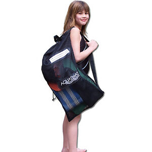 Easy-to-carry-New-Swim-Sport-Equipment-Mesh-Bag-with-Shoulder-Strap