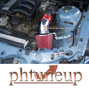BLUE 1996-1998 ACURA TL 3.2 3.2L AIR INTAKE KIT INDUCTION SYSTEMS RED FILTER