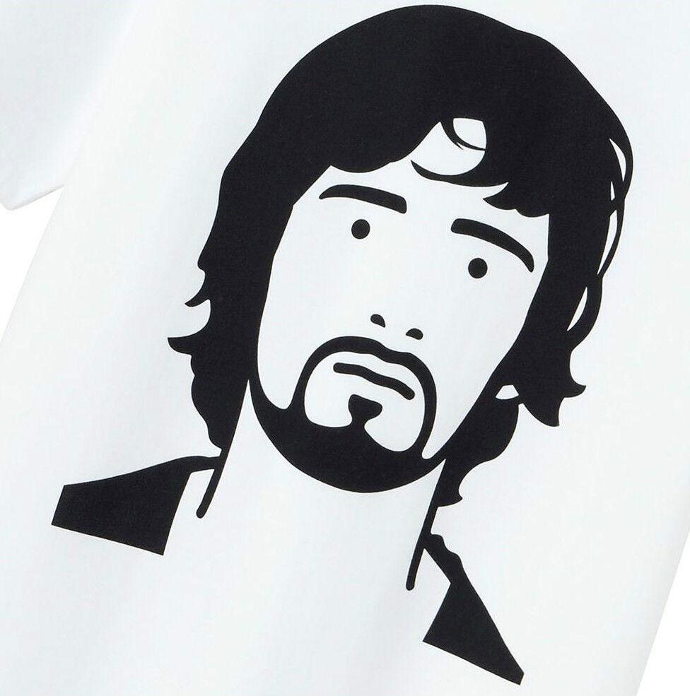JULIAN OPIE x UNIQLO 'Gary. Popstar.' 2014 SPRZ NY Graphic Artist T-Shirt L NWT