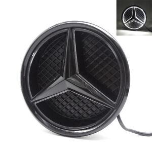 Car Led Front Grille Logo Daytime Light For Mercedes Benz E CLA ML A GLK 13-15