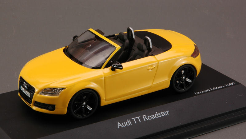 Audi TT Roadster Imola amarillo 1 43 Model 4725 Roadster