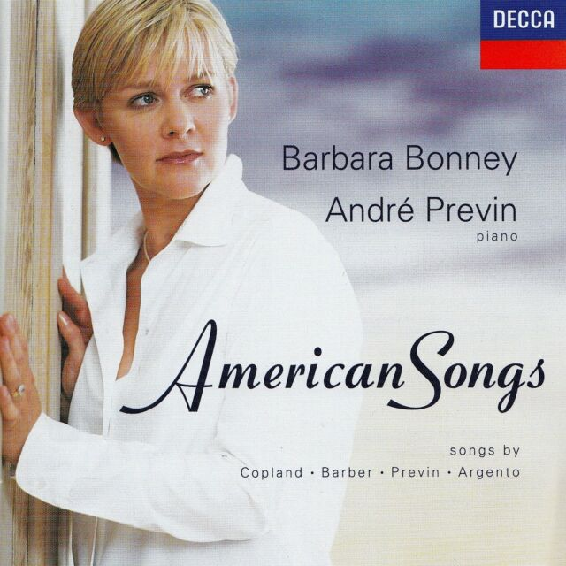 BARBARA BONNEY - ANDRE PREVIN : AMERICAN SONGS / CD - TOP-ZUSTAND