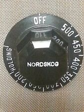 Nordskog Temperature Control Dial Knob Z83252-1 Aircraft Galley Oven Coffee