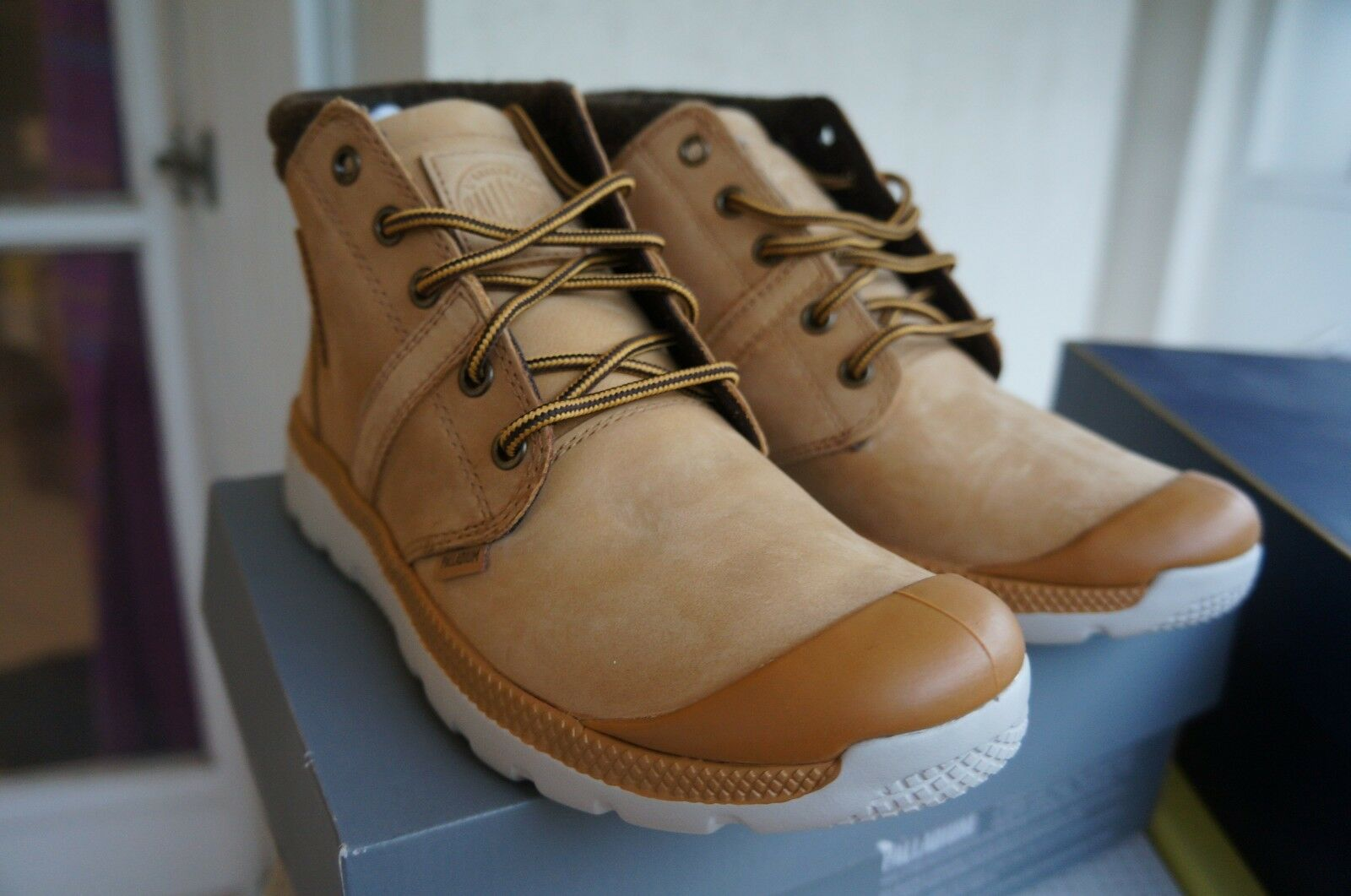 Palladium Palavil D Cuf F, Sneakers Hautes women, yellow 39 EU