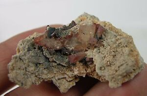 #6 Mexican Natural Terminated Topaz Crystal in Matrix Specimen 66.75ct or 13.35g