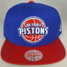 Detroit Pistons  XL Logo 2T Snapback by Mitchell & Ness