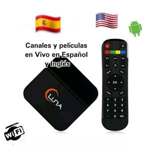 Details about LUNA TV BOX SPANISH & ENGLISH CHANNELS SAME AS HTV5 A2 MEXICO  LIVE TV