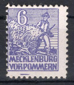 SBZ MiNr. 33 XA con PF IX-correttamente posta freschi-Gepr. luterano BPP - (gm1172)
