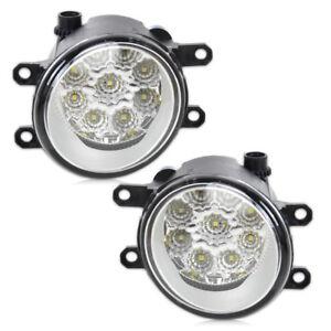 LED-Tagfahrlicht-Nebelscheinwerfer-Rund-Nebel-Licht-8121006050-fuer-Camry-Corolla