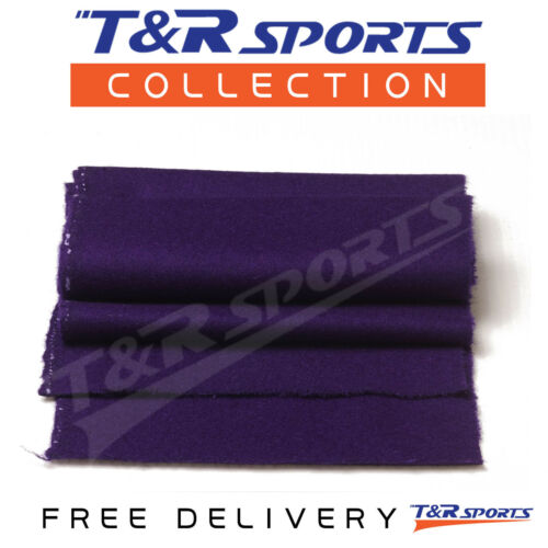 6x Thick Dark Purple Double-sided Wool Pool Table Felt Strips for Cushions