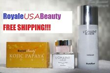 ROYALE BEAUTY L-GLUTATHIONE COMPLETE BODY WHITENING SET with SUN PROTECTION