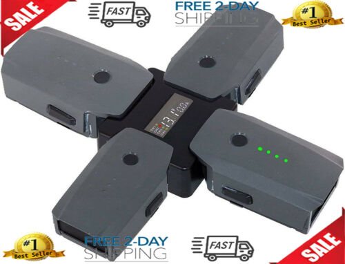 Accessories For DJI Mavic Pro//Platinum 4 In 1 Rapid Battery Charger S