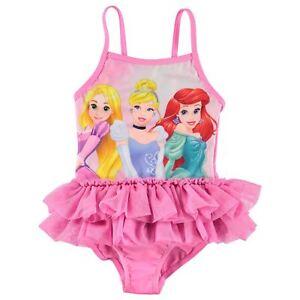 7ca32a61ee88 Disney Princess Swimsuit Infant Girls Pink Multi Swimming Costume ...