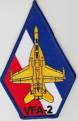 VFA-2 BOUNTY HUNTERS COFFIN SHOULDER PATCH