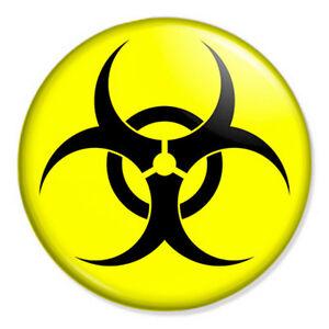 Uranium Symbol Biohazard 25mm 1...