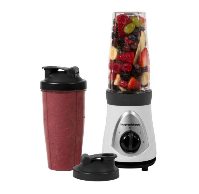 Morphy Richards 403030 Bullet Style Smoothie Maker Easy Blender Fruit Glace Mixer