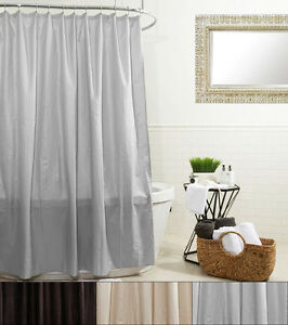 Ella Water Proof Polyester Microfiber Shower Curtain Or