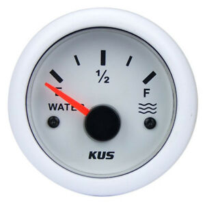 KUS-Water-Tank-Gauge-Caravan-Boat-RV-Water-Level-Gauge-240-33-OHMS-12-24v