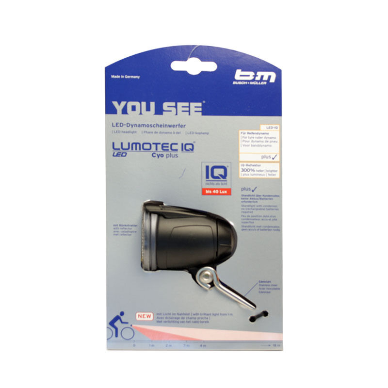 01264 B&M LED Lumotec IQ Cyo Plus Nahfeldausleuchtung Busch  und Müller  manufacturers direct supply