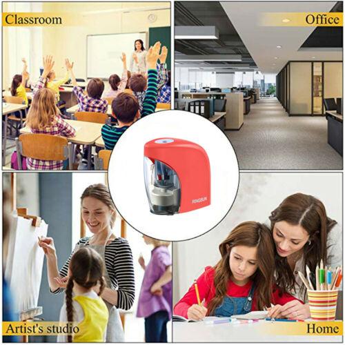 Electric Pencil Sharpener Durable Portable automatic pencil planer School Office