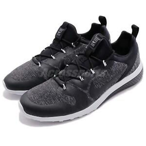 competitive price bf31e ddef4 Image is loading Nike-CK-Racer-Black-White-Grey-Men-Running-