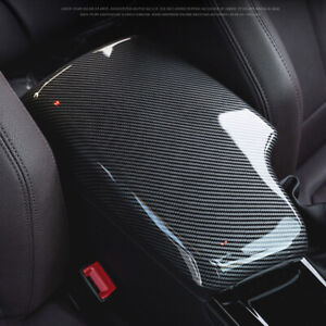 Carbon Fiber Center Console Armrest Box Cover Tray Fit For BMW 3 Series F30 F34