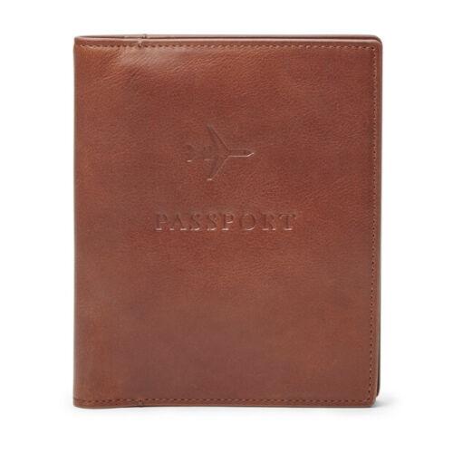 Fossil Leather RFID Passport Case MLG0358222