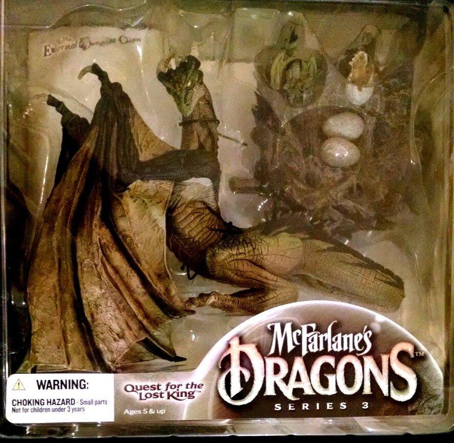 Mcfarlane drachen series 3 suche nach dem verschollenen könig der ewigen drachen - clan.