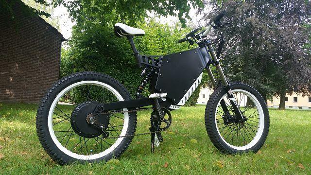 High Power E-Bike Sonderanfertigung nach Kundenwunsch 3000W - 10000W Raptor