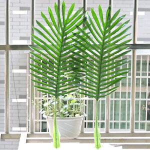 63cm-12pcs-Artificial-Palm-phoenix-Tree-Branch-Leaf-Frond-Home-Patio-Sago