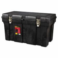 Rubbermaid Commercial Durable Tool Box, 36in, Black - Rcp780400bla on Sale