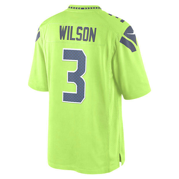 Mens 2xl Nike NFL Seattle Seahawks Color Rush Wilson  3 Limited Jersey RARE  XXL for sale online  b1e3908de